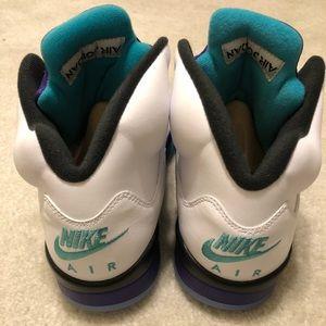"""5711ae4cb1528f Jordan Shoes - Air Jordan 5 Grapes """"Fresh Prince"""" New"""